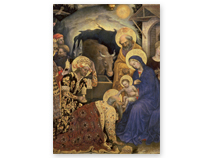 Adoration of the Magi Religious Christmas Cards